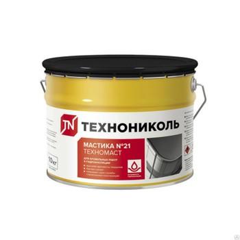 Мастика Кровельная битумно-полимерная (Техномаст №21) 10 кг