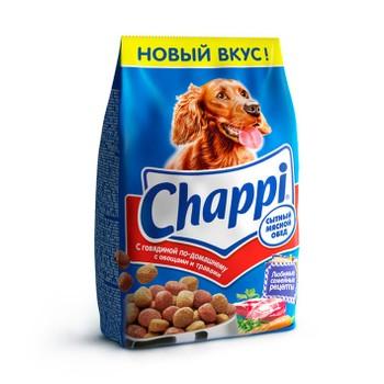 Корм говядина по домашнему 600г, Chappi