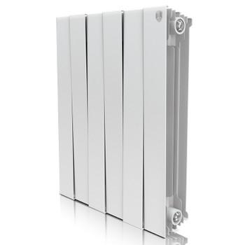 Радиатор биметаллический PianoForte Bianco Traffico 500-4 Royal Thermo