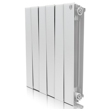 Радиатор биметаллический PianoForte Bianco Traffico 500-8 Royal Thermo