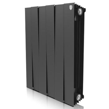 Радиатор биметаллический PianoForte Noir Sable 500-8 Royal Thermo