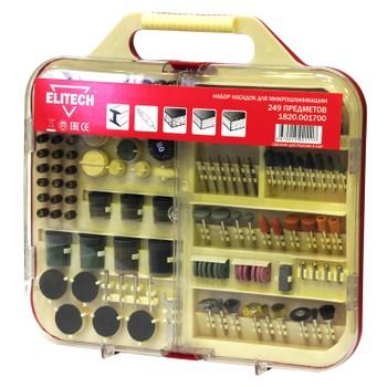 Набор из 249 предметов для прямой микрошлифмашины ELITECH