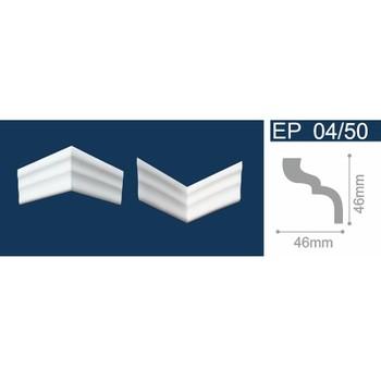 Угол для потолочных плинтусов C 04/50, (4 угла /уп)
