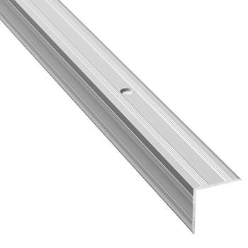 Профиль угловой ПУ 05.1800.01л, серебро анод