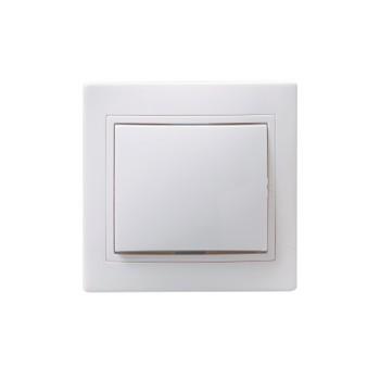 Выключатель 1кл 10А КВАРТА (белый)