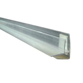 Профиль угловой прозрачный 4-6мм х6м