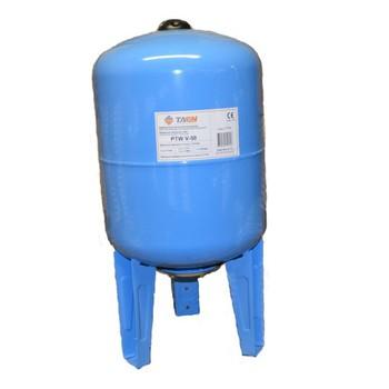Бак расширительный для водоснабжения вертикальный PTW V-50 TAEN (синий)