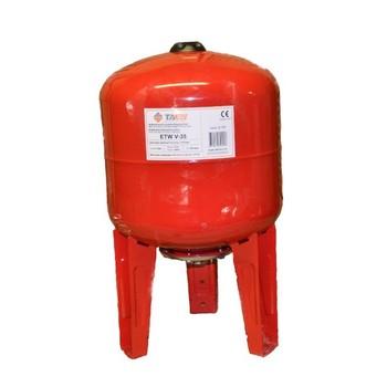 Бак расширительный для отопления ETW V-35 TAEN (красный)