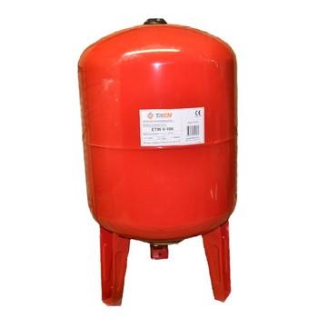 Бак расширительный для отопления ETW V-100 TAEN (красный)