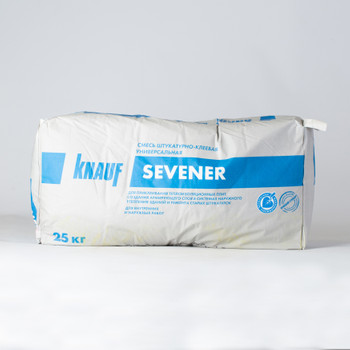 Штукатурно-клеевая смесь Кнауф Севенер, 25 кг