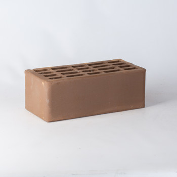Кирпич облицовочный пустотелый полуторный М-100/150, шоколад, На Закаменной
