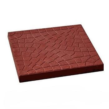 Плитка тротуарная Колодец красн.(300х300х30)