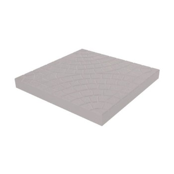 Плитка тротуарная Колодец 300*300*30, серый