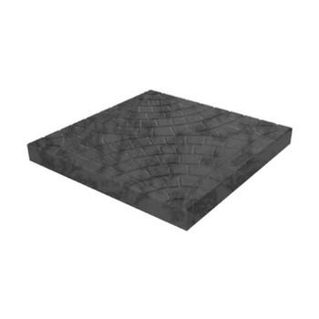 Плитка тротуарная Колодец черн.(300х300х30)