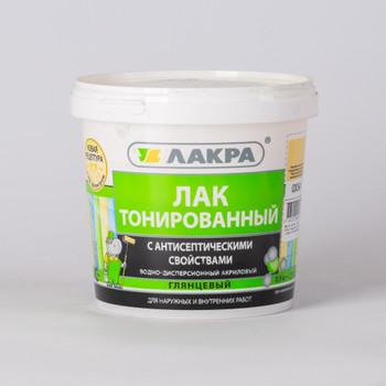 Лак в/д ЛАКРА, тонированный, Сосна (0,9 кг)
