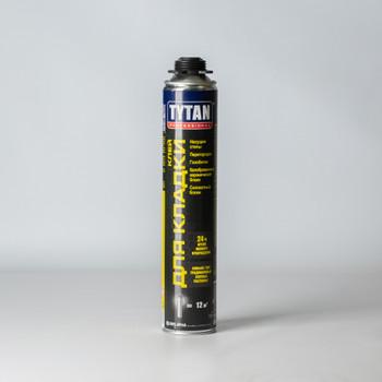 Клей-пена для кладки газобетона и керамических блоков Tytan, 870 мм