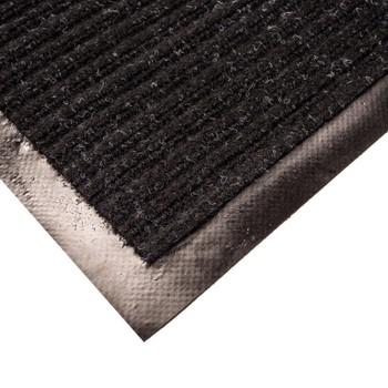 Коврик грязезащитный Двухполосный, черный, 40х60 см.