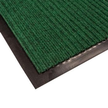 Коврик грязезащитный Двухполосный, зеленый, 60х90 см.
