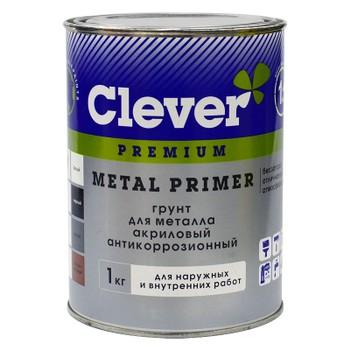 Грунт акриловый универсальный терракот Clever, 1 кг
