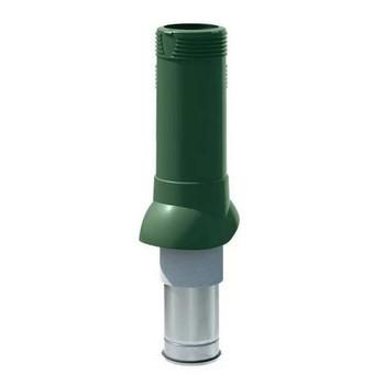 Выход вентиляционный изолированный ТехноНИКОЛЬ D125/160 зеленый