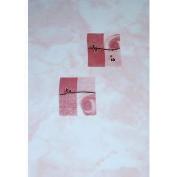 Декор 200х300мм Муаре розовый г.Шахты