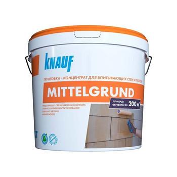 Грунтовка Кнауф Миттельгрунд, 10 кг