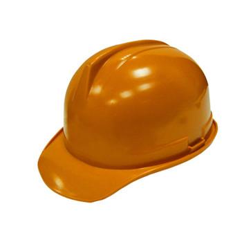 Каска строительная оранжевая с храповым механизмом