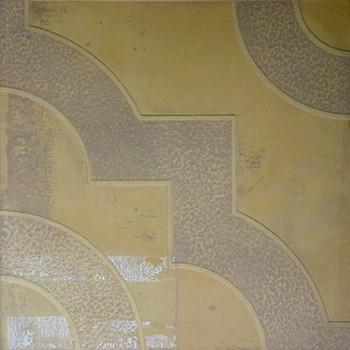 Плитка тротуарная Ажурная желтая(300х300х30)
