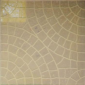 Плитка тротуарная Колодец ЭКО-плит 300*300*30, желтый