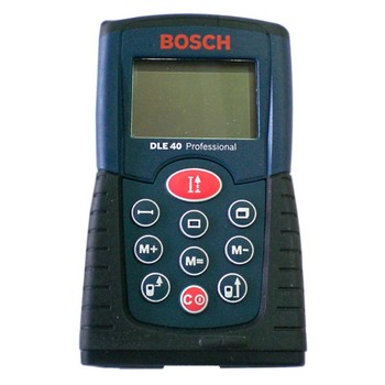 Лазерный дальномер-рулетка BOSCH DLE 40 0601016300