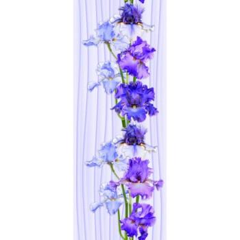 Панель стеновая ПВХ П-25 Ирис цветок 250х2700 мм