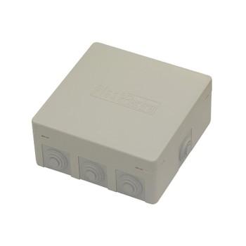 Коробка распределительная 8 вводов 125x125x50мм