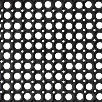 Коврик резиновый Ринго-матт 40х60 см, 16 мм, черный