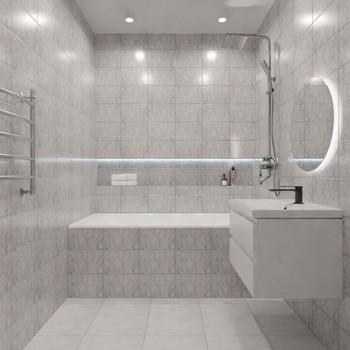 Плитка керамическая Unitile Ладога 200х300 мм голубая