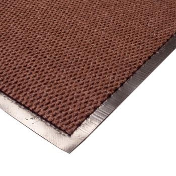 Коврик грязезащитный Трафик, коричневый, 80х120 см.