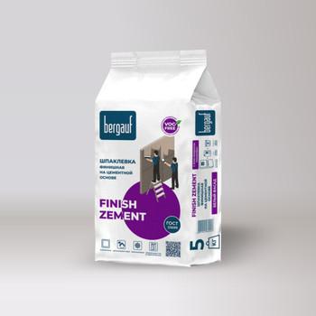 Шпаклевка финишная цементная Bergauf Finish Zement 5 кг