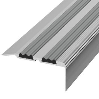 Профиль угловой ПУ 07.1800.01л, серебро анод