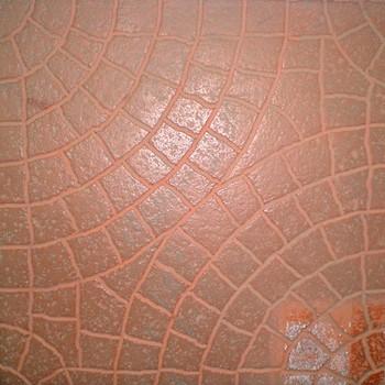 Плитка тротуарная Колодец ЭКО-плит 300*300*30, кирпичный