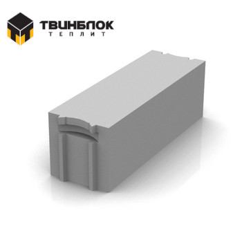 Блок газобетонный Твинблок D500 625х250х200 мм