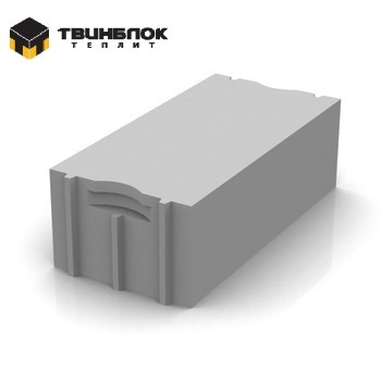 Блок газобетонный Твинблок D500 625x250x300 мм г.Березовский
