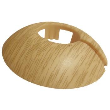 Розетта (декоративная накладка для труб) Tarkett диаметр 25,40 мм, Дуб, 559524038, 100% древесина