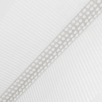 Профиль угловой ПВХ 100х150 мм с армирующей сеткой, 2500 мм