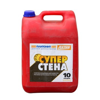 Добавка для растворов Плитонит-Актив СуперСтена, 10 л