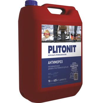 Добавка противоморозная Плитонит-Актив АнтиМороз, 3 л