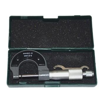 Микрометр LEGIONER М-0-25-0,01 механический 0-25/0,01мм 34480-25