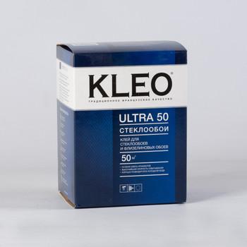 Клей обойный KLEO ULTRA для флизелиновых, текстильных и виниловых, для стеклообоев 500гр