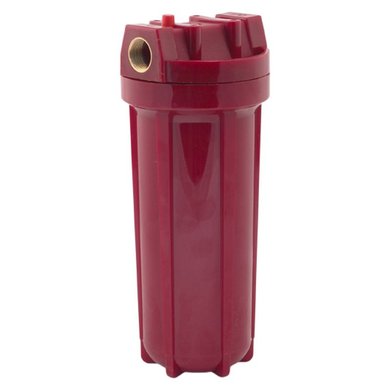 Фильтр магистральный для горячей воды 10, 1/2 USTM (кронштейн, ключ, +80С, 8 атм.)