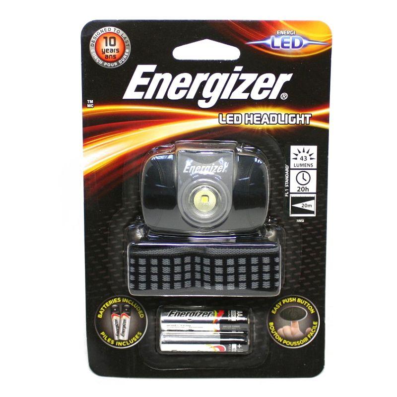Купить Фонарь Налобный Energizer Led Headlight, 1 Светодиод