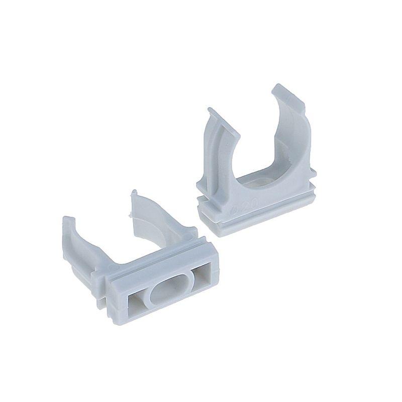 Крепеж-клипса 20мм (10шт) TDM<br>Размер: 20 мм; Количество в упаковке: 10 шт;