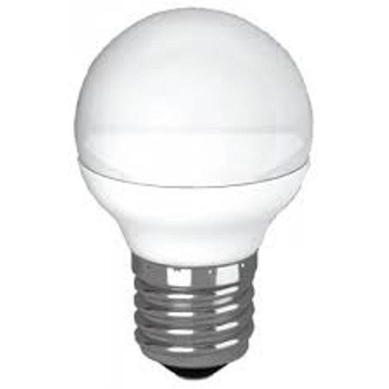 Купить Лампа светодиодная LED GL45 5Вт 220В Е14 3000К Космос, Россия